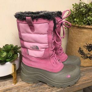 The North Face Heatseeker Snow Boots Girls 4